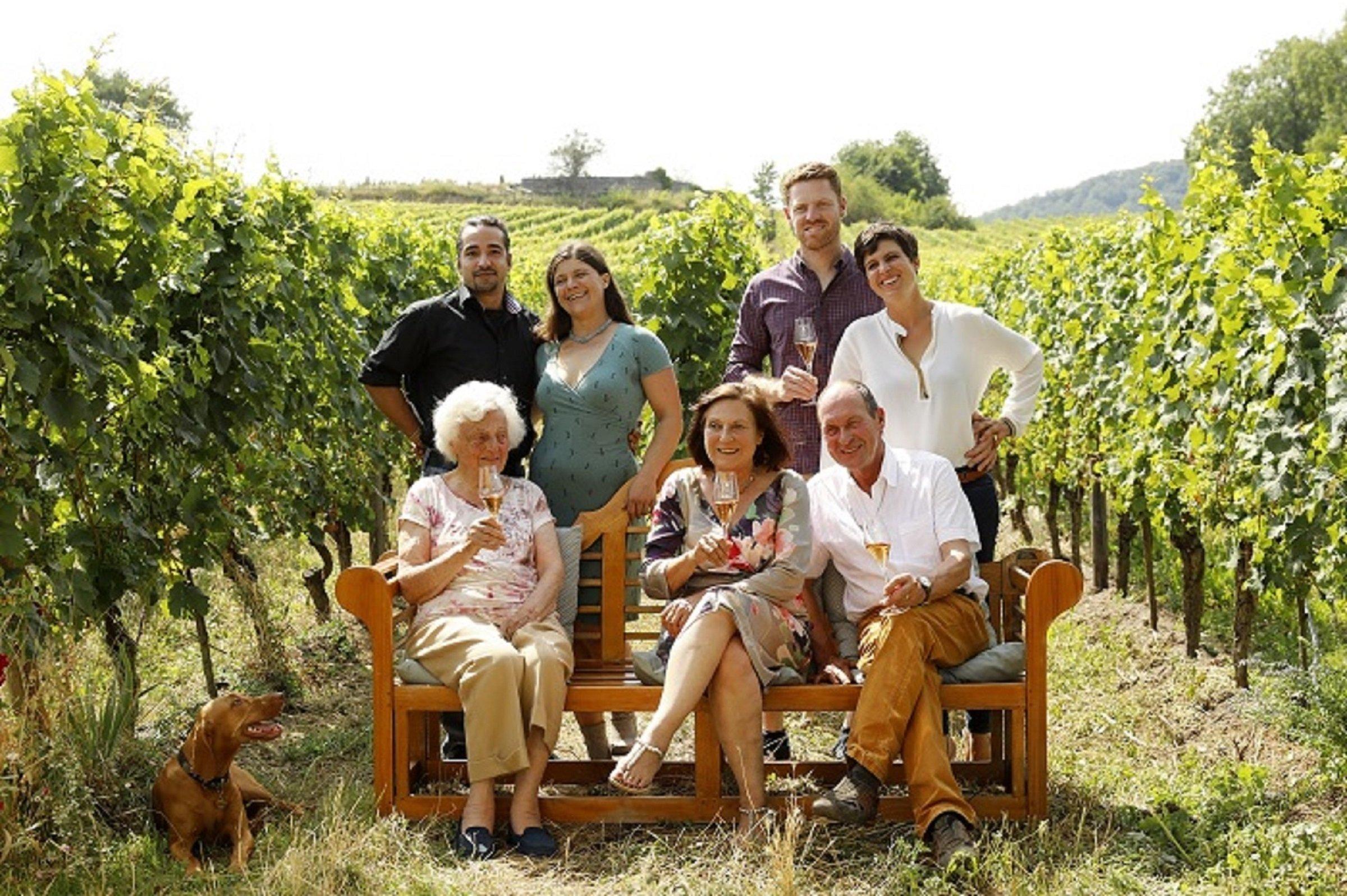 Familie Menger Krug. Motzenbacker wijnen